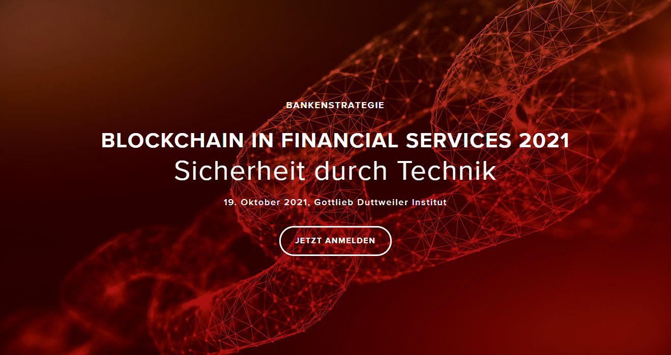 BLOCKCHAIN IN FINANCIAL SERVICES 2021: Security through technology